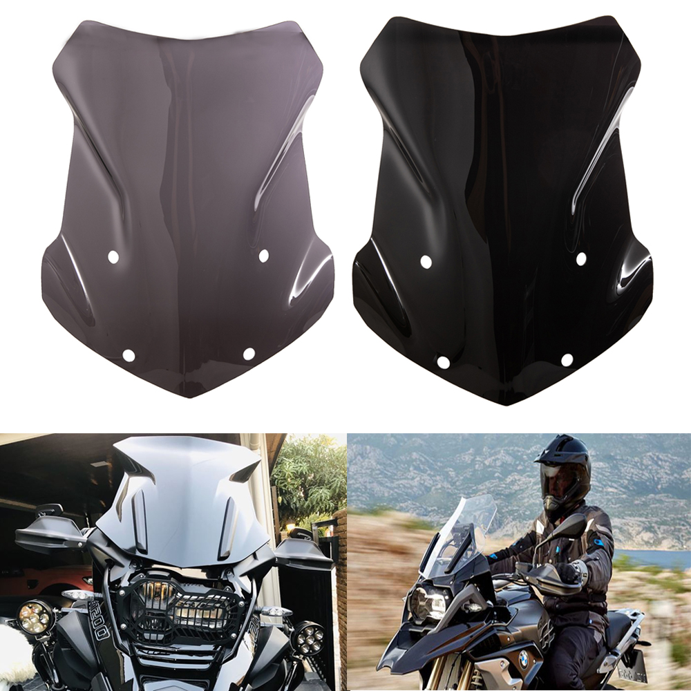 Motorcycle Windscreen Windshield For BMW R1200GS LC 13-18 / R1200 GS LC ADV 14-18 / R1250GS 18-19 / R1250GS Adventure 2019(China)