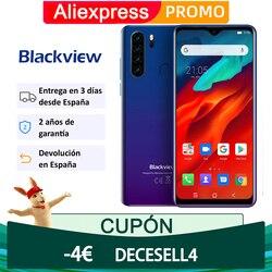 Blackview A80 Pro Телефон, четыре ядра, 4 Гб 64 Гб мобильный телефон 6,49 дюймов в виде капли воды, 4680 мА/ч, 4G, Мобильный телефон Смартфон глобальная верси...