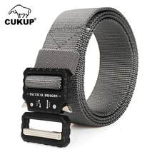 CUKUP Design Multi-functional Belts Jeans Accessory High Quality Tactical Dragon Nylon Military Belt Buckle 125cm Size CBCK153(China)