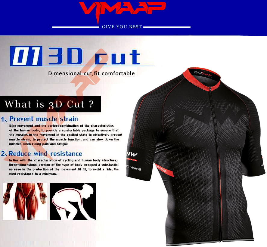 Northwave Nw Summer Cycling Jersey Set Breathable MTB Bicycle Cycling Clothing Mountain Bike Wear Clothes Maillot Ropa Ciclismo 2