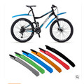 Цветной быстроразъемный стильный горный велосипед крыло 26 дюймов Все края включены дорожный велосипед с фиксированной передачей аксессуа...