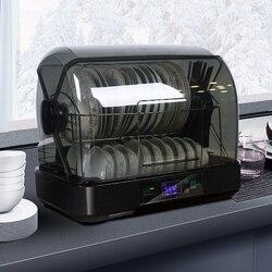 Elektronische Gericht Trockner Anion Desinfektion Schrank Hohe Temperatur Sterilisator Kleine Tisch Stäbchen Geschirr Trockner Sterilisator