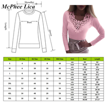 New Women Slim Tunic Lace V Neck Blouse 2020 Sexy Elegant Summer Short Sleeve Tops Lace Flower Plus Size Tops S-5XL