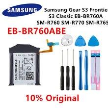 Samsung original EB-BR760ABE 380mah bateria para samsung gear 3 frontier/classic SM-R770 SM-R760 r765 SM-R765S baterias + ferramentas
