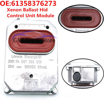 Original 61358376273 Xenon Ballast Hid Control Unit Module For Audi Mercedes-Benz Porsche For BMW E46 3 series 99-02, M3 01, E38
