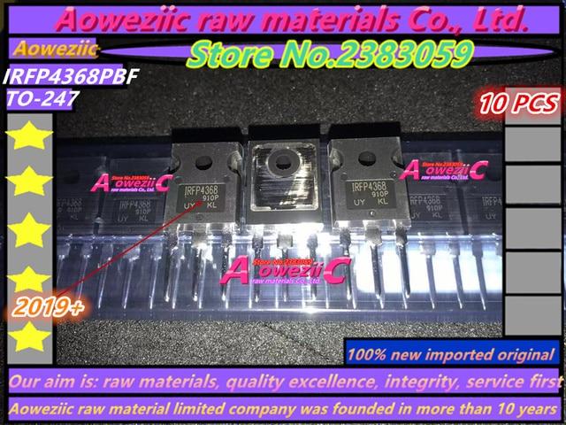 Aoweziic 2019 + 100% novo importado original irfp4368pbf irfp4368 para 247 tubo de efeito de campo mos tubo 75 v 350a