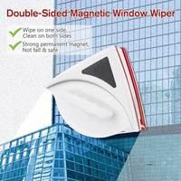 Ajustável Dupla Face Limpador De Vidro Janela Escova de Vidro Magnético Escova para Lavagem Ferramenta de Limpeza do Agregado Familiar