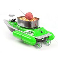 EAL T10 RC Fishing Boat Intelligent Wireless Electric Fishing Bait Remote Control RC Boat Fish Ship Searchlight Gifts For Kids