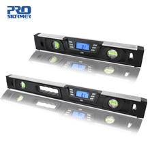Inclinomètre de niveau numérique électronique détecteur d'angle 40cm/60cm aimants d'écran LCD Nivel niveau numérique par PROSTORMER