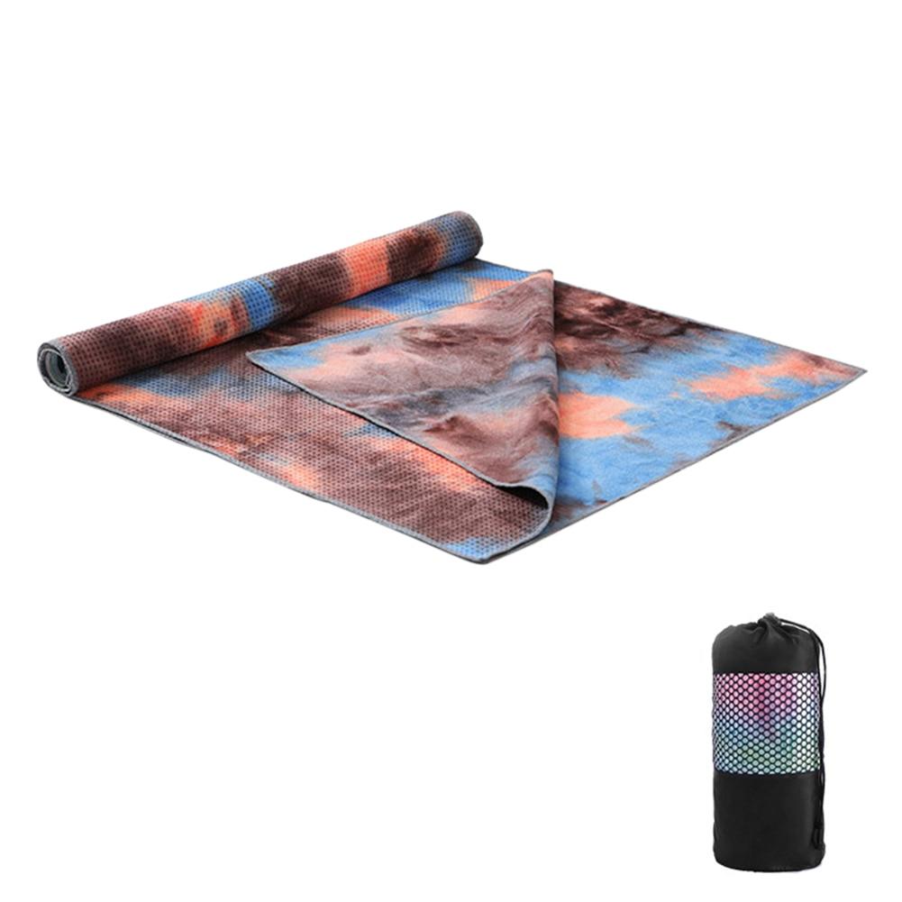 183x63cm anti skid yoga esteira toalha capa