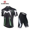 Комплект одежды Queshark Pro для мужчин  комплект одежды для велоспорта с коротким рукавом  комплект мужской одежды для велоспорта  летняя велоси...