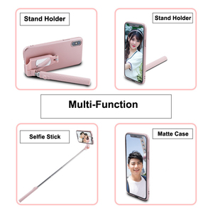Image 3 - Bluetooth Selfie Stick Case for iPhone 11 Pro XS MAX XR X 8 7 6 6S Plus SE 2020 Case Portable Foldable for Apple 11 Cover Funda