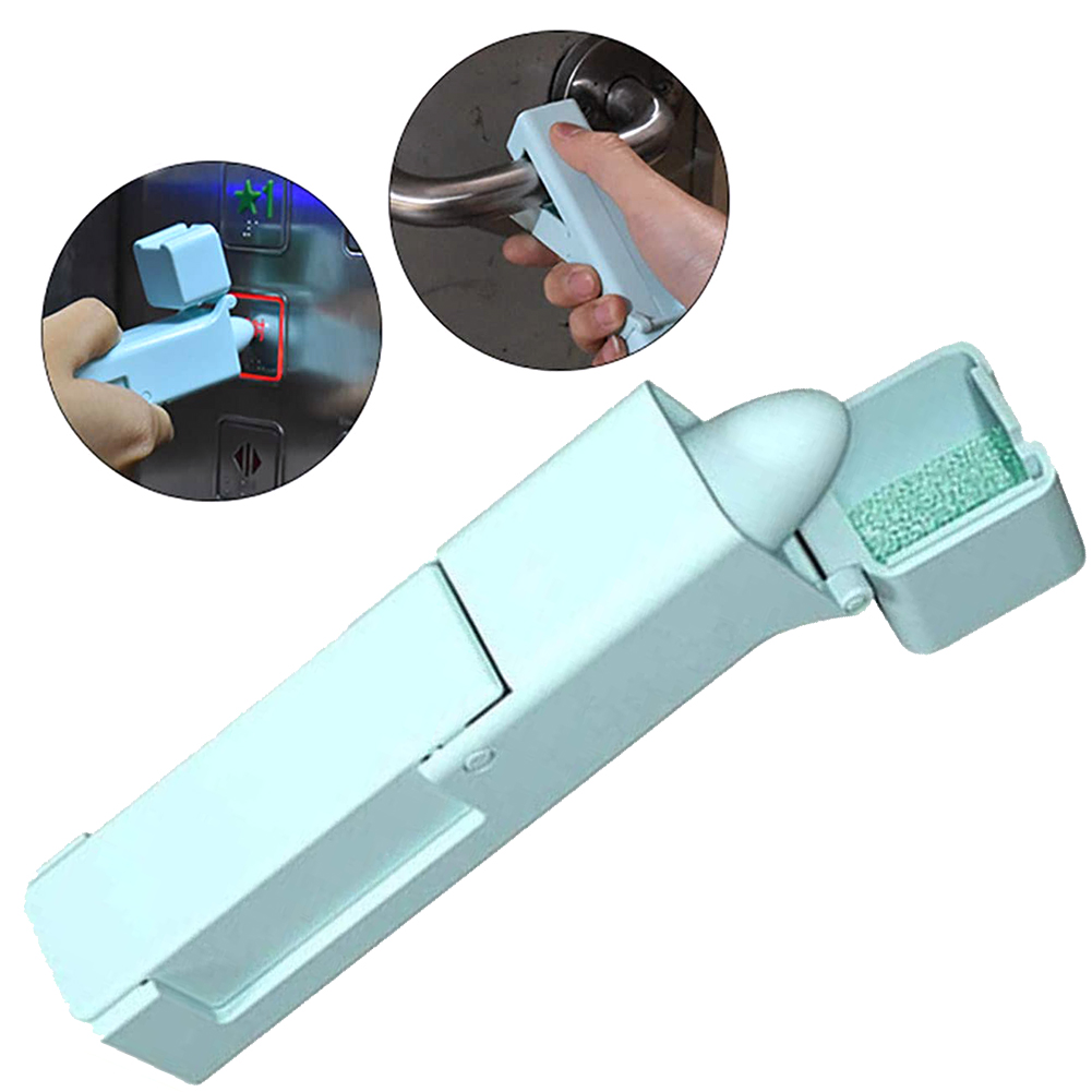 No Touch Open Door Tool Assistant No Touch Epedemic Zero Contact Helper Portable Anti Germ Elevator Button Drawer Door Handle