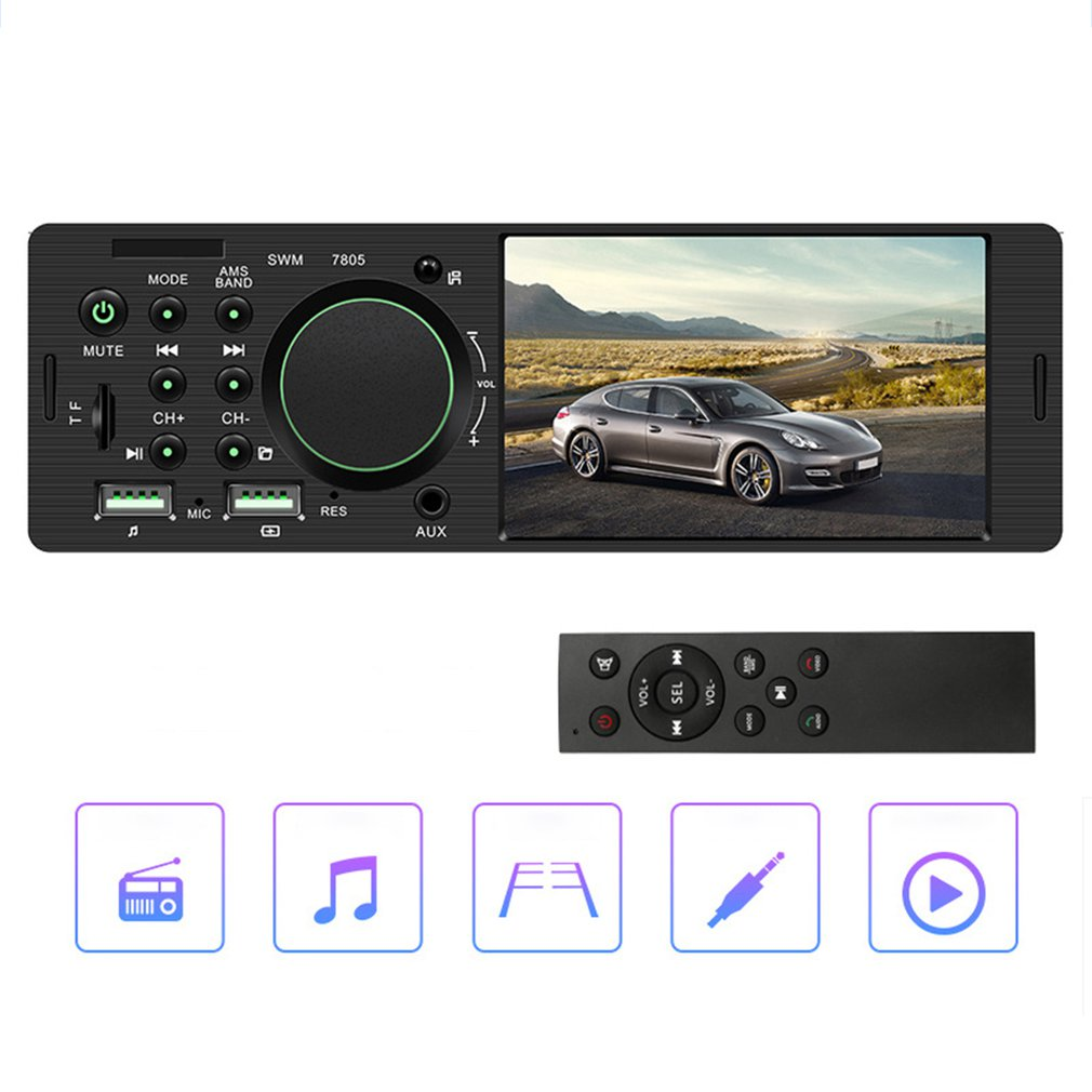 4.1 Inch Car Hd Big Screen Bt Car Mp5 Player Car Mp3 Mp4 Card Machine Car Radio Host Reversing Video Player