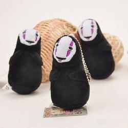 Anime Spirited Away Faceless Man Soft Plush Toy No Face Man Miyazaki Toys Dolls Toys Small Pendant Ornaments 10cm for Toddler