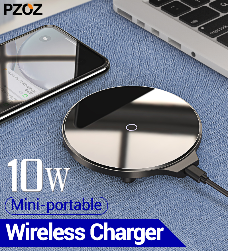 PZOZ Wireless-Charger Charging-Dock Phone-Accessories iPhone Samsung Qi for 11x8/pro title=
