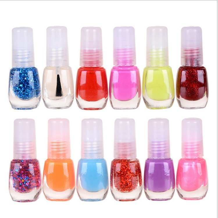 Random Color Bottle Nail Polish Student Mini Beauty Nail Polish Nude Color Bright Color Nail Polish Special
