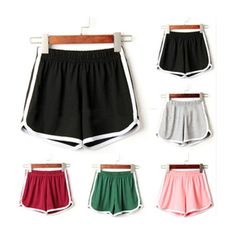Women Sport Fitness Yoga Shorts Women Athletic Shorts Cool Ladies Sport Running Fitness Jogging Shorts Workout Shorts Women