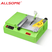 Saws Table-Saw Cutting-Tool Woodworking ALLSOME Bench Handmade Multifunctional Mini 220V