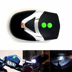 Nowe gorące rogi rowerowe światło elektroniczny rower rowerowy dzwonek do kierownicy rowerowej róg LED silne głośne czyste powietrze dzwonek alarmowy dźwięk