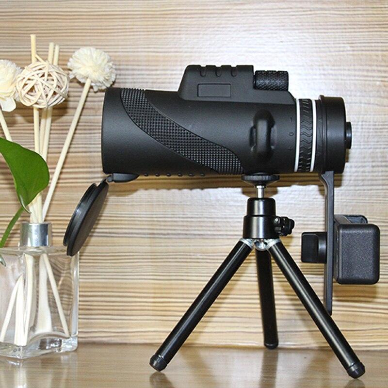zoom telescópio monocular shimmer night scope câmera