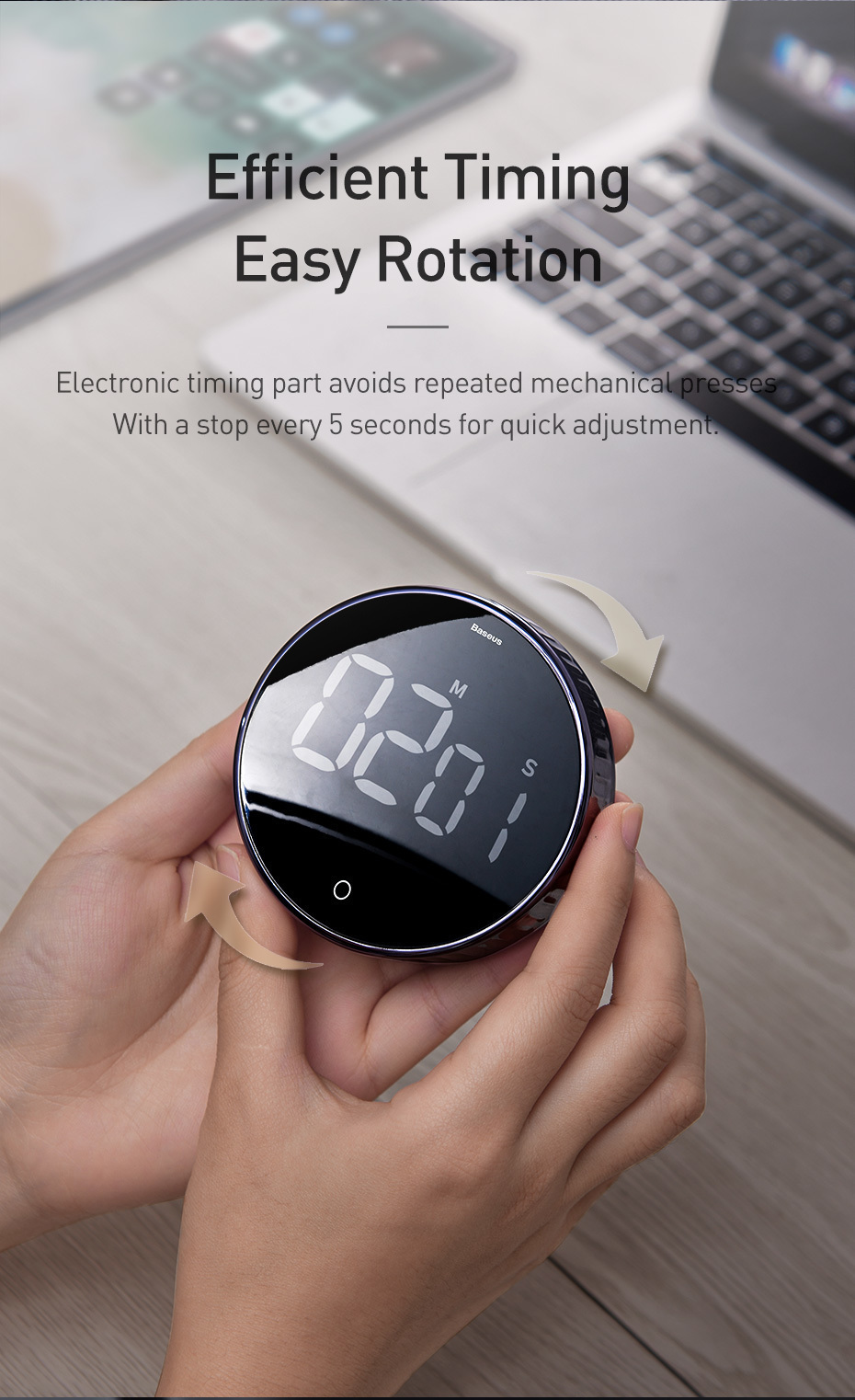 LED Digital Timer, An Electronic LED Digital Timer