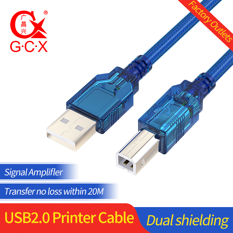 USB Printer Cable Type A Male to B Male Scanner Cord USB B JSAUX Printer Cable