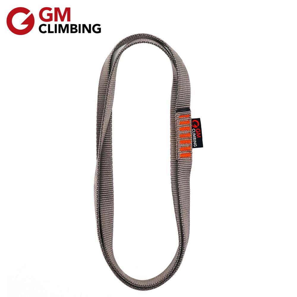 Swing Rappelling GRLIFE 2pcs Nylon Climbing Sling Runner Daisy Chain Rope Climbing Utility Cord for Outdoor Climbing 22KN Nylon Extension Climbing Straps Yoga Hammock