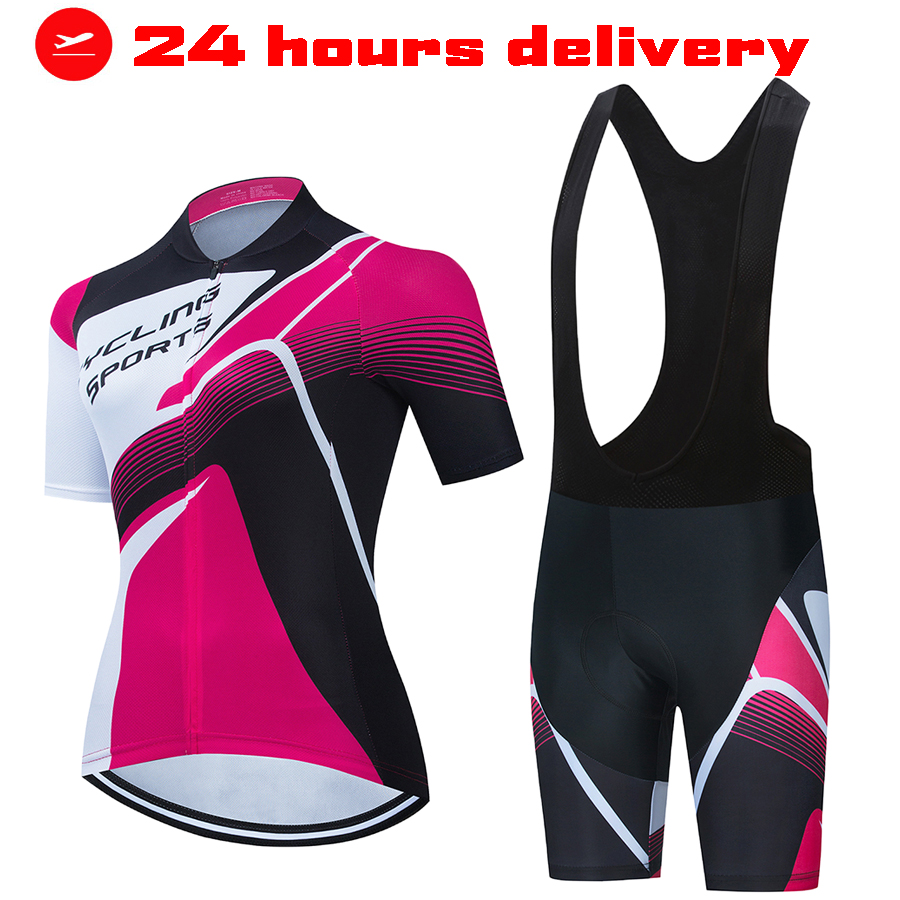 Mulheres ciclismo robe verão marca roupas femininas 2021 shorts e blusas femininas de topo duas peças conjunto grande tamanho vestido bicicleta estrada