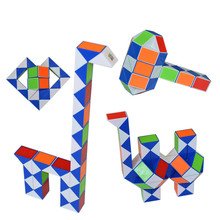 Cube magique règle torsion serpent Puzzle jouet infini Puzzle Cube autocollant Anti-Stress Mini Neokub nouveau Cubo Magico professionnel EE50MF(China)