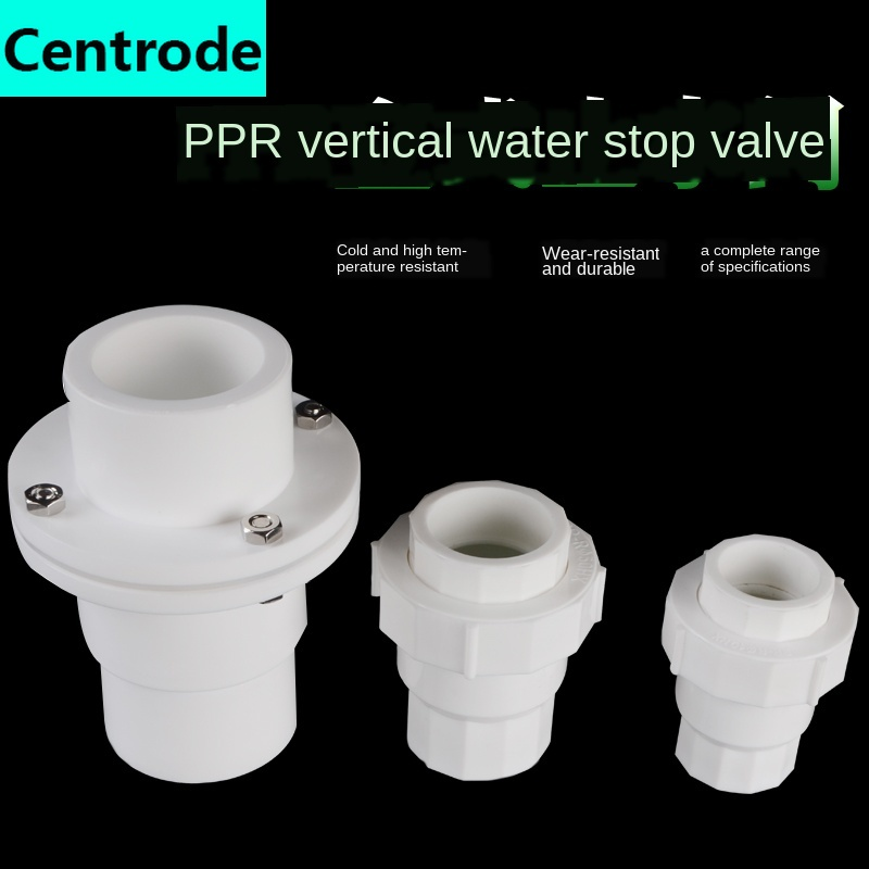 PPR Vertical Check Valve 4 Minutes 6 Minutes 1 Inch PPR Check Valve 20/25/32/40/50/63 PPR Check Valve