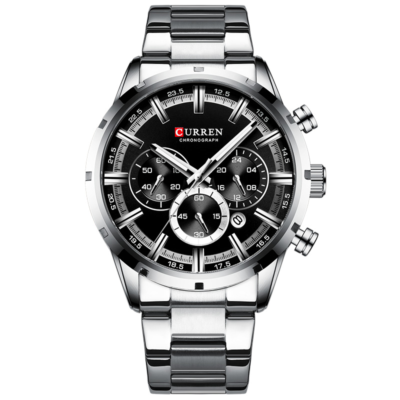silver-black