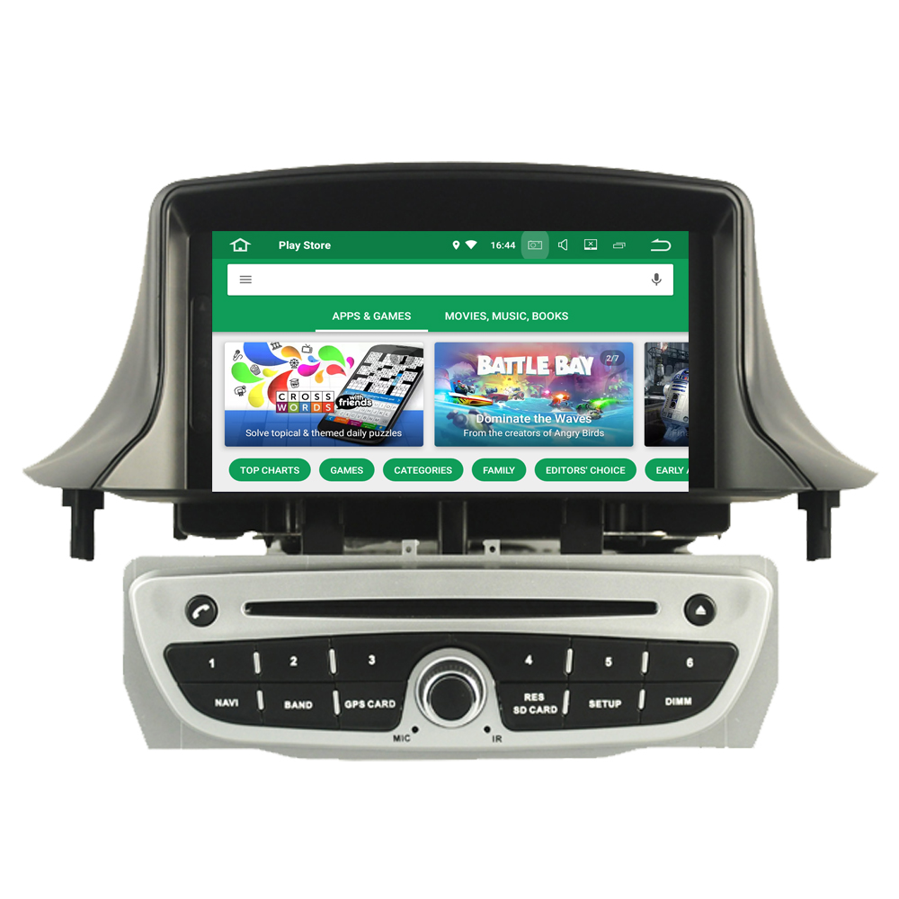 Car DVD Player For Renault <font><b>Megane</b></font> III <font><b>3</b></font> Fluence Octa Core Android 9.0 Autoradio Radio Stereo <font><b>GPS</b></font> Navigation Multimedia System image