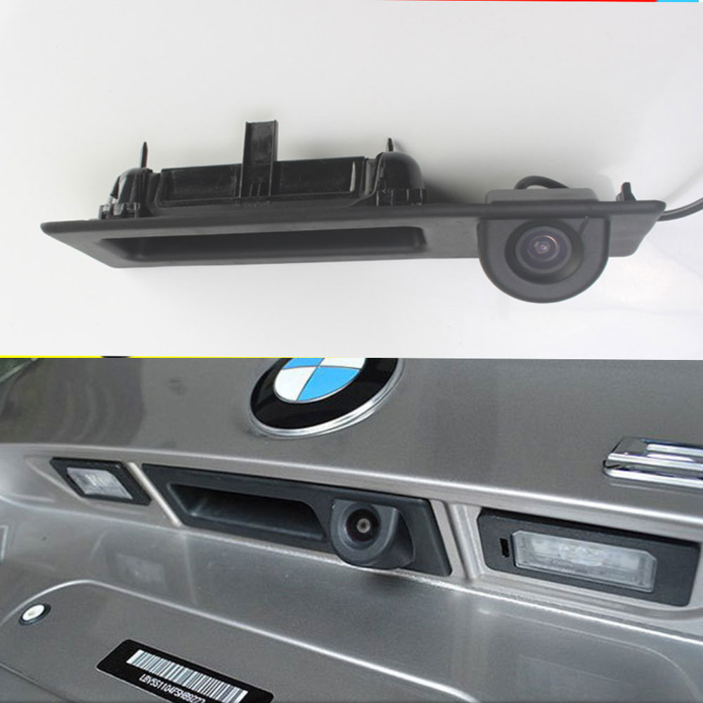 Car Trunk Handle Reversing 170° Rear View Camera For Bmw 3 5 X3 Series F10 F11 F25 F30 1