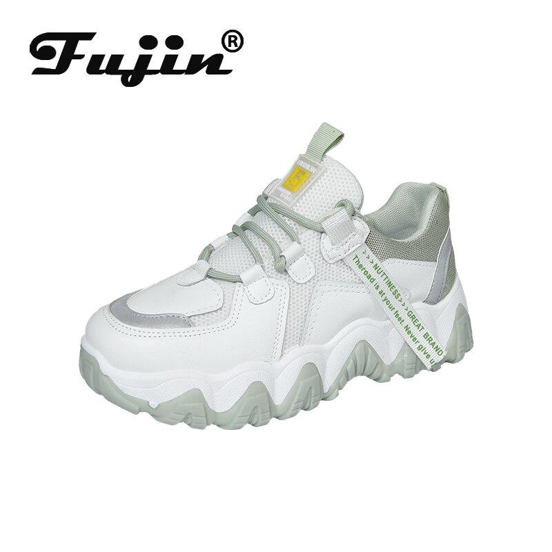 Fujin Summer 2020 Women Casual Shoes Comfortable Dropshipping Platform Shoes Woman Sneakers Ladies Mixed Colors Women Sneakers
