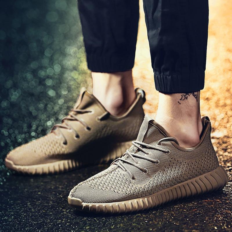 Tenis blancos zapatillas hombre chaussures de Tennis pour homme 2019 chaussures de Sport hommes Ultra Boost tricot baskets hommes marche Hombre baskets