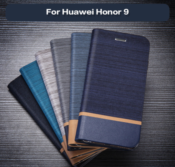 PU Leather Phone Case For Huawei Honor 9 Flip Book Case Silicone Back Cover For Huawei Honor 9 Business Card Slot Case huawei honor 8c business case pu leahter cover for huawei honor8c wallet flip case anti knock phone cover