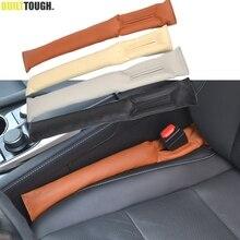 1 шт. переднее сиденье автомобиля из искусственной кожи зазор фиксатор герметичный стоп-коврик прокладка наполнителя коврик для подушки автомобильные аксессуары универсальная посадка