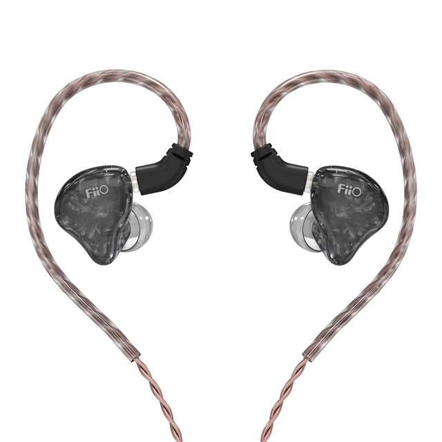 FiiO FH1s HiFi Stereo 1BA(Knowles)+1Dynamic Hybrid Earphone IEM with 0.78 2pins Detachable Cables with Deep bass hifi 3