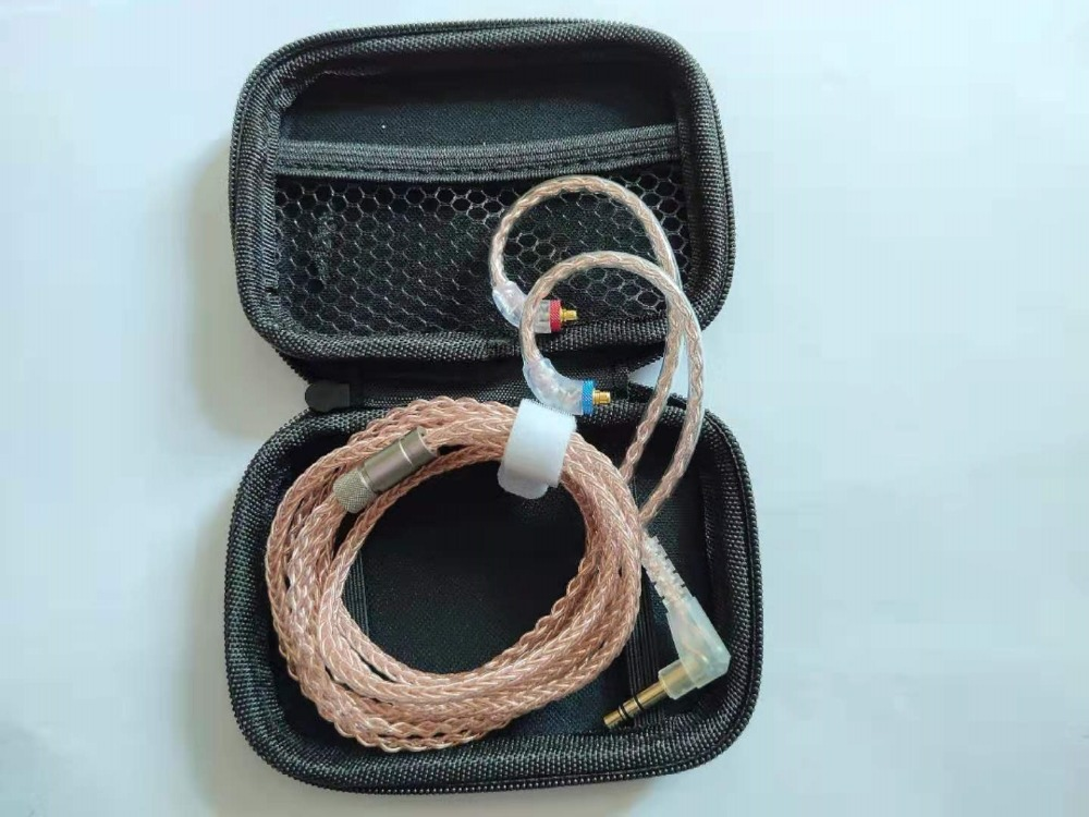 Audiosense 8-conductor Single Crystal OCC MMCX Cable