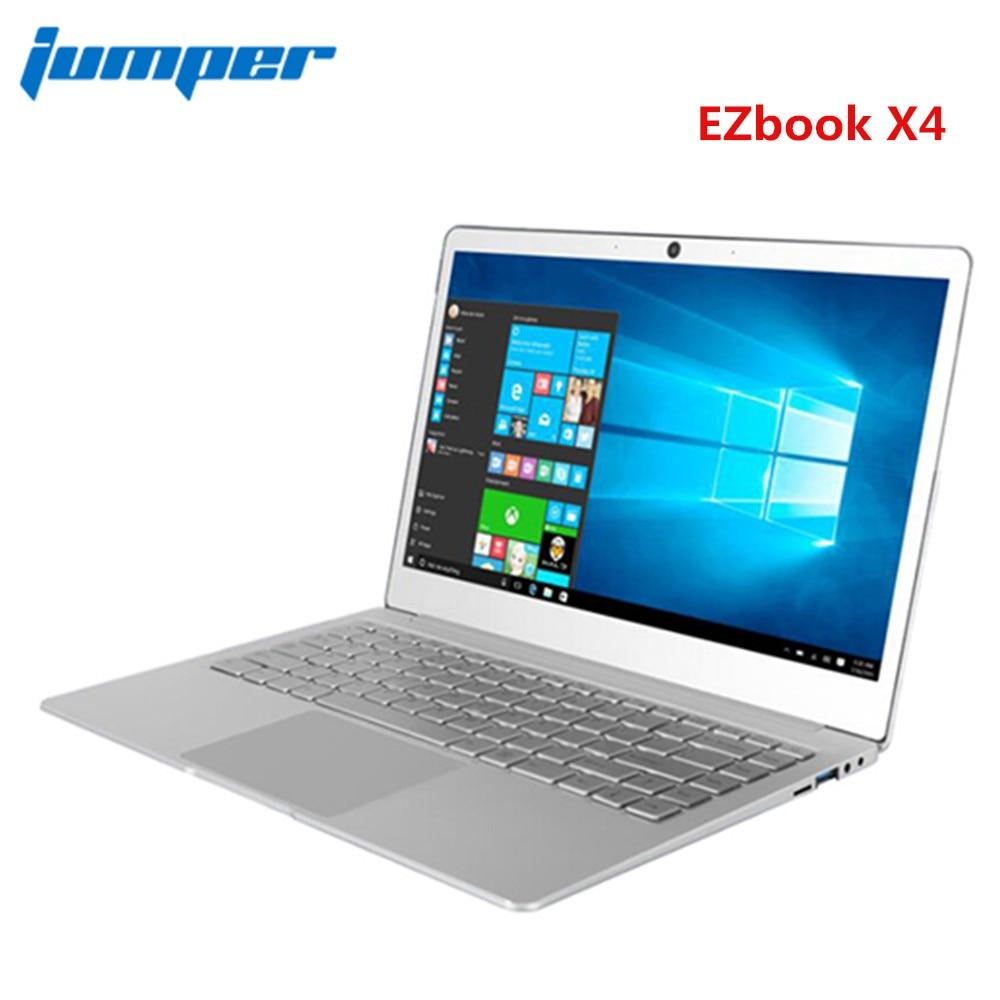 Jumper EZbook X4 Notebook 14.0 Inch Windows 10 Home Version Intel Celeron J3455 Quad Core 6GB RAM 128GB EMMC Jumper Laptop