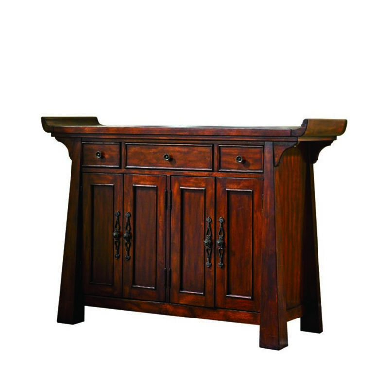 Hot sell console table in china and console table wood of console table furniture GF19 image