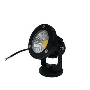 Image 3 - 9W 7W 5W 3W Led Garden LED Lamp 110 V 220V COB Outdoor Landscape spotlight with Spike Base IP65 Garden Yard Pathway Lawn Light