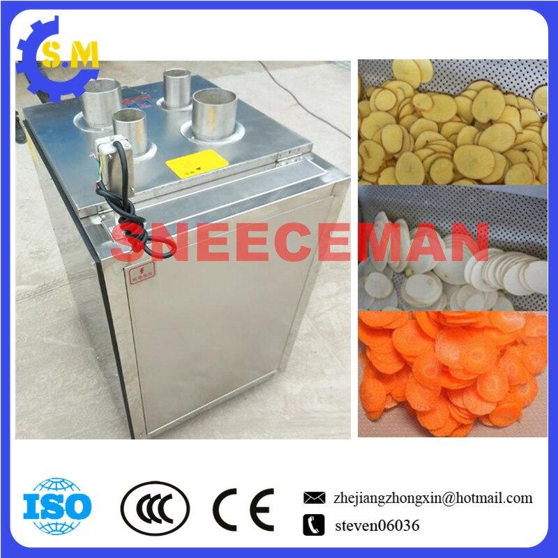 300KG/H High Efficient Banana Chips Cutting Machine Fruit Vegetable Slicer Maker Cutter Machine