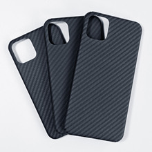 Luxury high-end carbon fiber phone case for iPhone XIR XI XIS MAX 2019 Kevlar glossy mobile