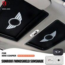 Anti-UV chapéu de Sol Sombra Isolamento Térmico Nacional Windshie Sol Do Carro Para Mini cooper R55 R56 R57 R58 R59 R60 R61 F54 F55 F56 F57 F60