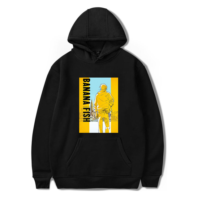 BANANA FISH THEMED HOODIE (28 VARIAN)