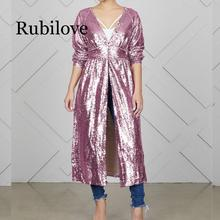 2020 New Women's Jackets Autumn Cover Up Long Sleeve Sequins Metallic Coat lady