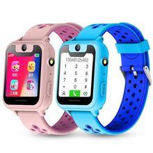 Детские умные часы, Детские умные часы для детей, экстренный вызов, устройство поиска местоположения, камера, трекер, монитор защиты от потери