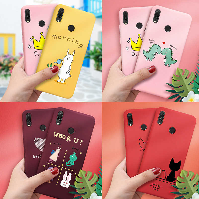 Soft TPU Case For Huawei P20 Pro Mate 10 Lite 20 P30 Lite 20 P20 P30 Pro Pattern Cover For Honor 8X 10 Lite 8X 20 Pro Phone Case